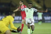 Nigeria beats Tunisia 1-0 in 3rd place game at African Cup