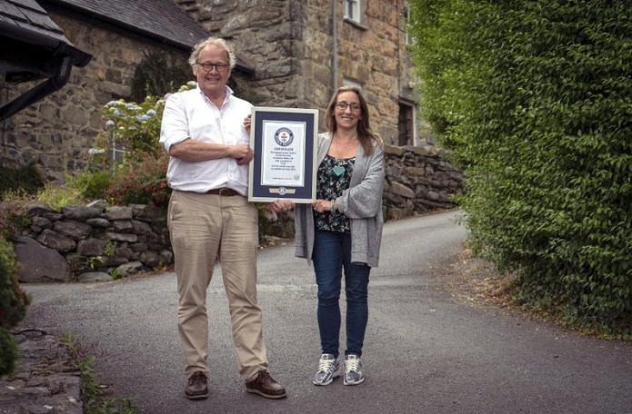 Welsh street named steepest in world