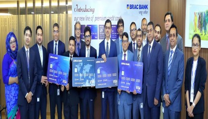 BRAC Bank launches four new VISA credit cards