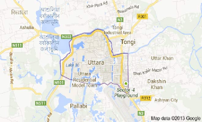 Decomposed body recovered in Uttara