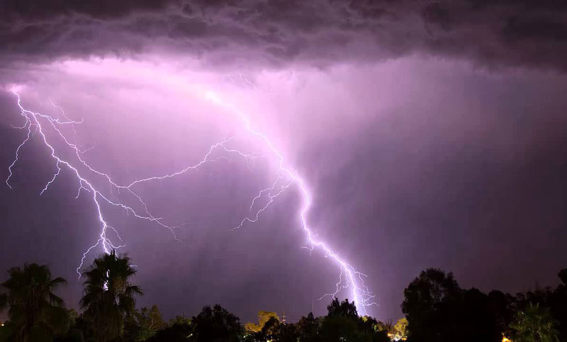Father, son killed by lightning strike in Sunamganj