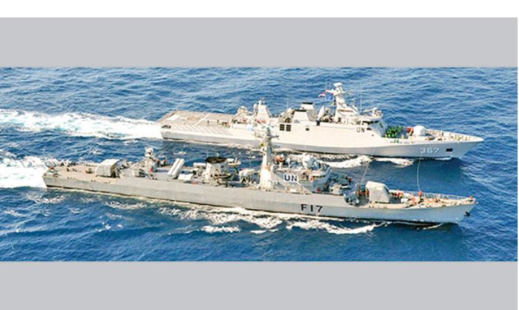 Navy leave for Lebanon to join peace keeping mission