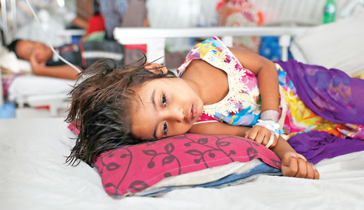 Alarming rise in Dengue  cases, deaths feared