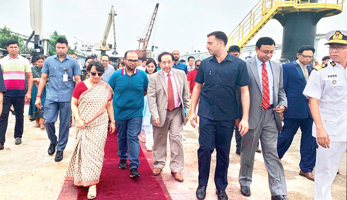 New trade era — Bhutanese ship arrives in Bangladesh using Indian waterway