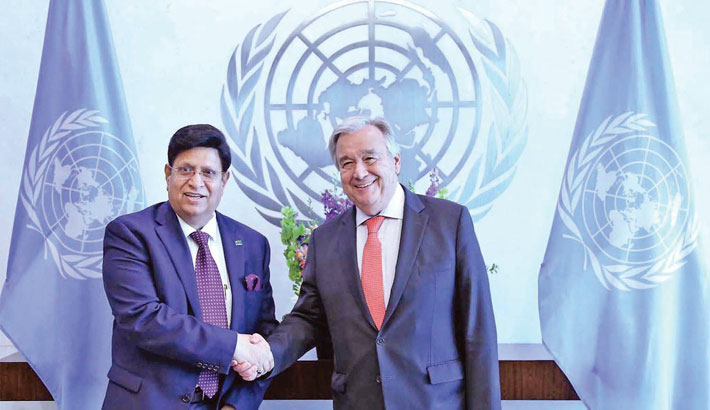 Trying best to find solution to Rohingya crisis: UN chief