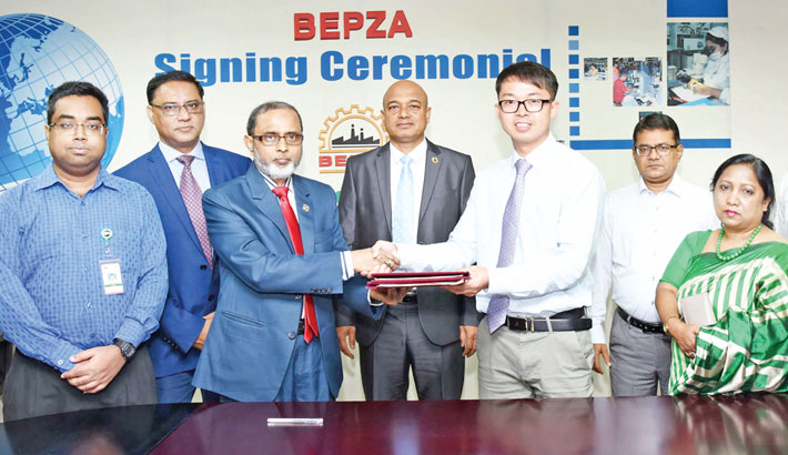 Chinese co to invest $2mn in Mongla EPZ