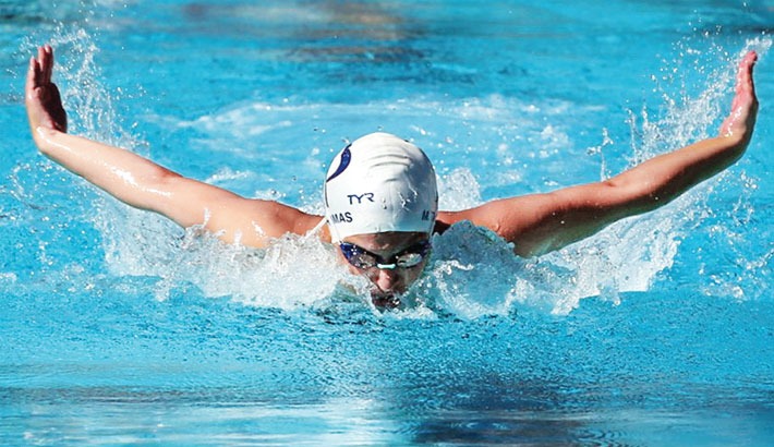 Four Arm Exercises in Pool