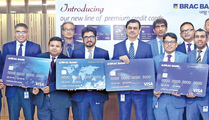 BRAC Bank launches 4 new VISA credit cards