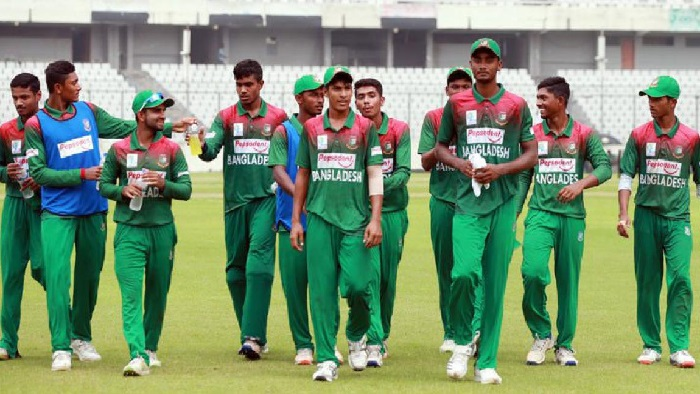 Bangladesh U-19 thump Young Lions in warm-up game