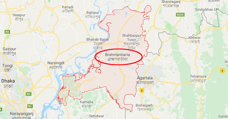 Two killed in Brahmanbaria road crashes