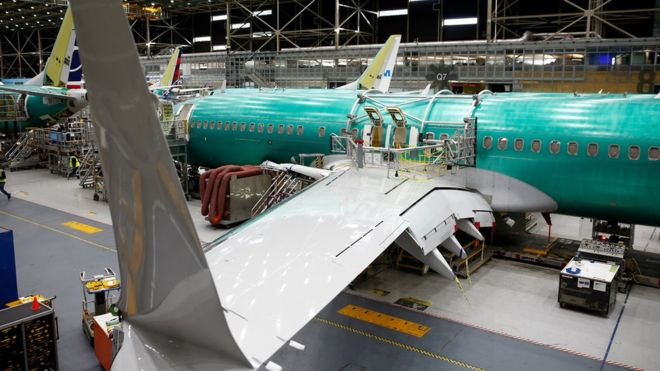 Boeing takes $5bn hit over grounding of 737 Max