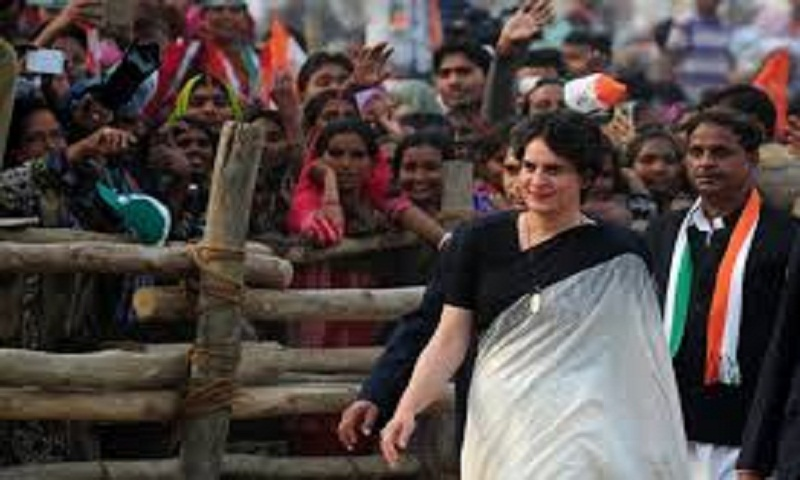 Priyanka Gandhi detained after protest in Uttar Pradesh