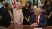 Woman gives Trump false information about Bangladesh