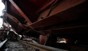 Dhaka-Sylhet rail communications suspended as wagon derails in Maulovibazar