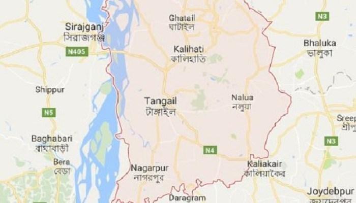 Pickup van driver killed in Tangail road accident