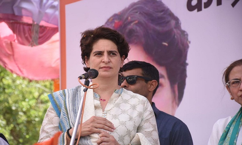 Sonbhadra killings: Priyanka Gandhi meets family members of victims