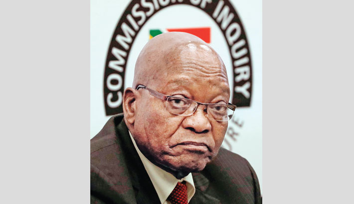 Zuma pulls out of South African graft inquiry