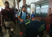 Tigers leave for Sri Lanka