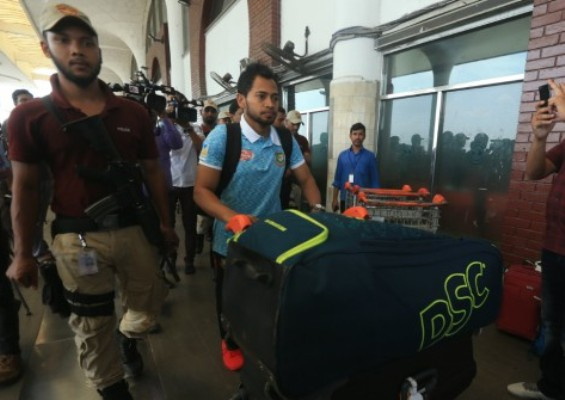 Tigers leave for Sri Lanka