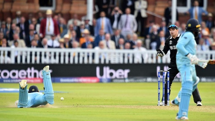 Cricket World Cup final umpire admits 'error': report