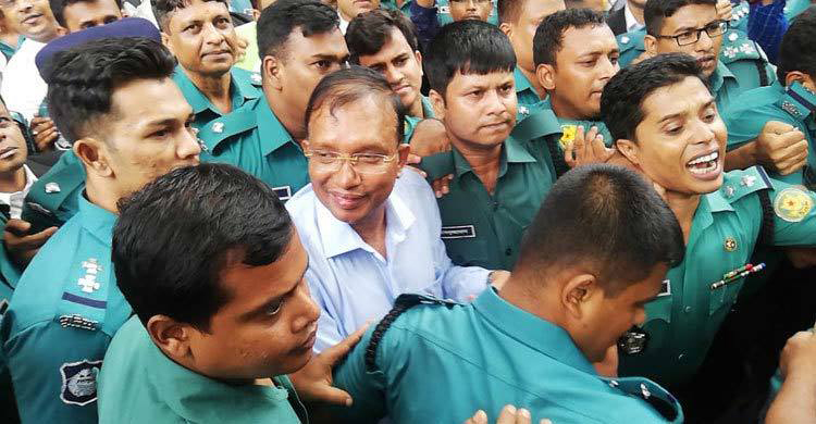 DIG Mizan shown arrested in bribery case