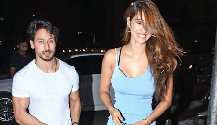 Tiger Shroff, Disha Patani defy breakup rumours