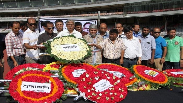 Journalist Ajoy Barua cremated