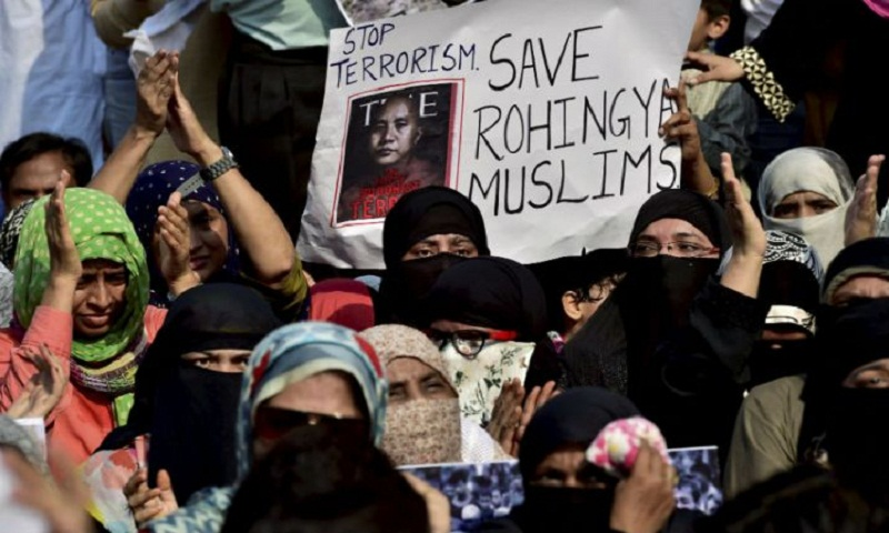 Rohingya Muslims' attempt to enter Tripura prevented