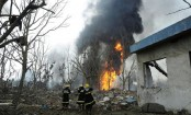 Death toll rises to 15 in Chinese gas plant explosion