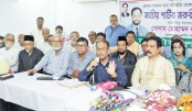 Jatiya Party Chairman GM Quader speaks at the executive meeting