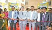Inauguration 'Study in India' expo by cutting a ribbon