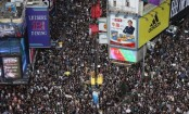 Hong Kong protests: High security as masses march