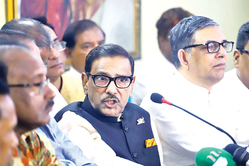 Priya Saha should be given a chance: Quader