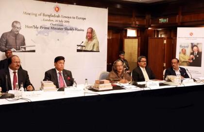 Pursue political, economic diplomacy together: PM asks envoys in Europe