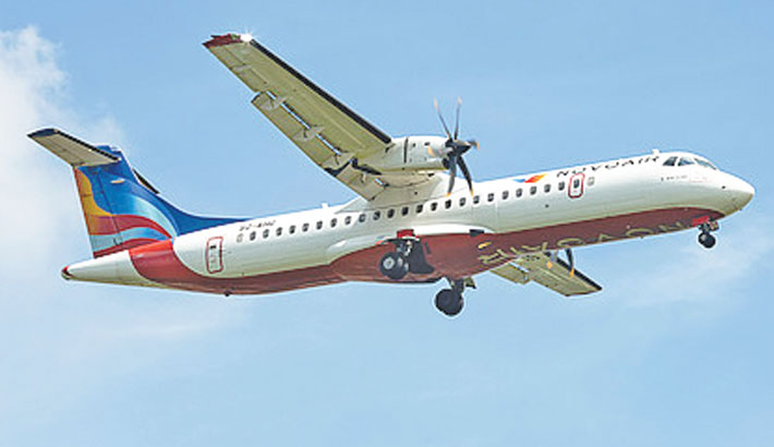 NOVOAIR increases  flights to Saidpur  route