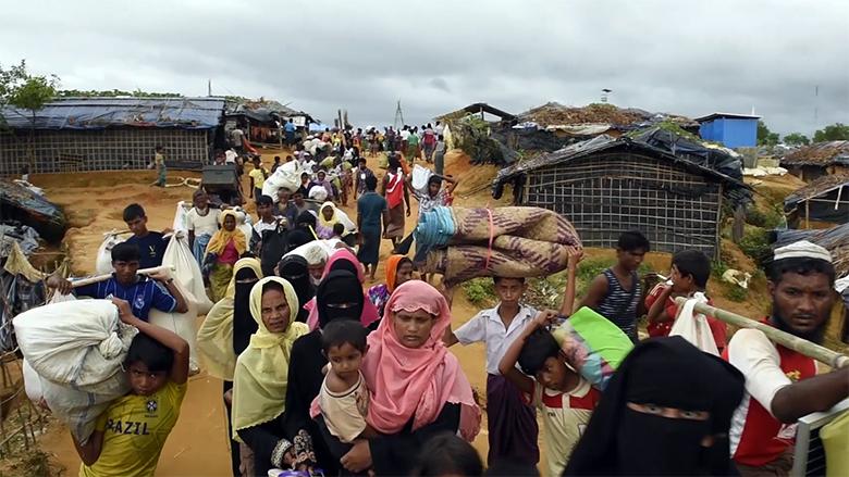 Dhaka seeks int'l help to resolve Rohingya crisis