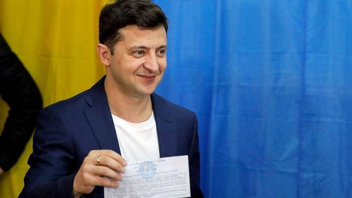 President Zelensky's party triumphs - exit polls