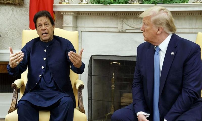 Kashmir issue won't be resolved bilaterally: Imran Khan after Trump meet