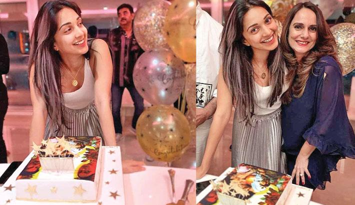 Kiara celebrates 'Kabir Singh' success