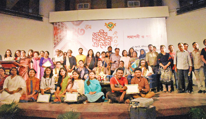 23rd Nat'l Art Exhibition ends at Shilpakala Academy