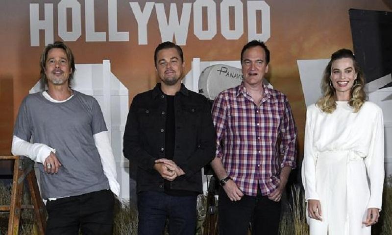 Brad Pitt, Leonardo DiCaprio and Margot Robbie talk about changing Hollywood