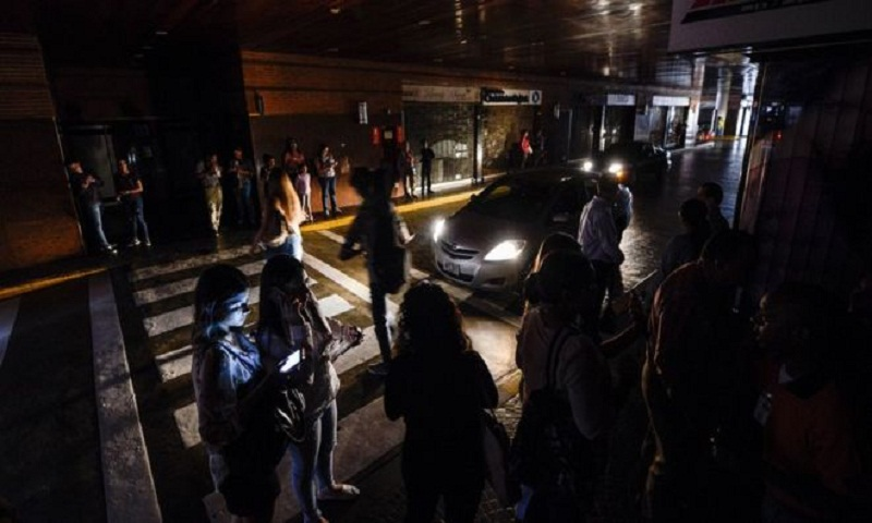 Venezuela blackout: Power cuts plunge country into darkness