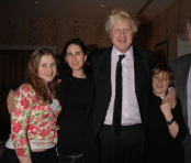 Meet UK's new PM Boris Johnson's family