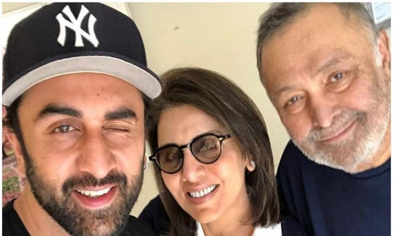 Rishi Kapoor says when he was diagnosed with cancer, son Ranbir 'literally forced me into the aircraft