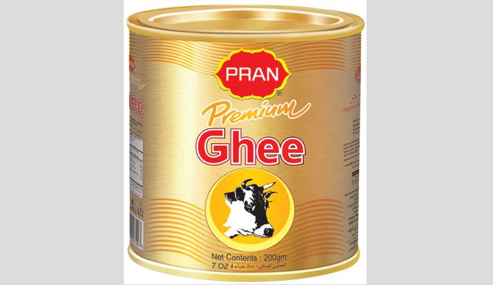 PRAN premium ghee gets BSTI standard