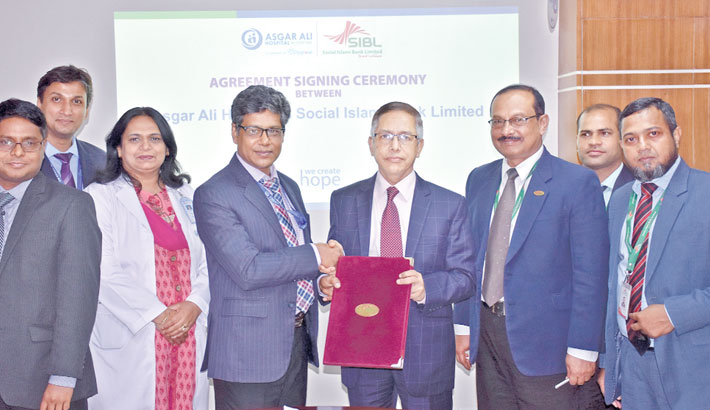 SIBL signs deal with Asgar Ali Hospital