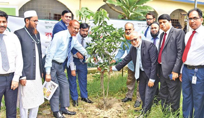 Al-Arafah Islami Bank opens tree plantation campaign