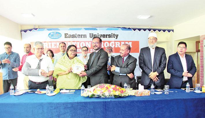 Freshers' reception held at Eastern University