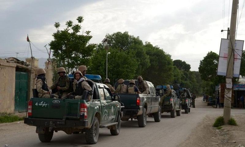 Taliban kill 4 Afghan police in attack on checkpoint