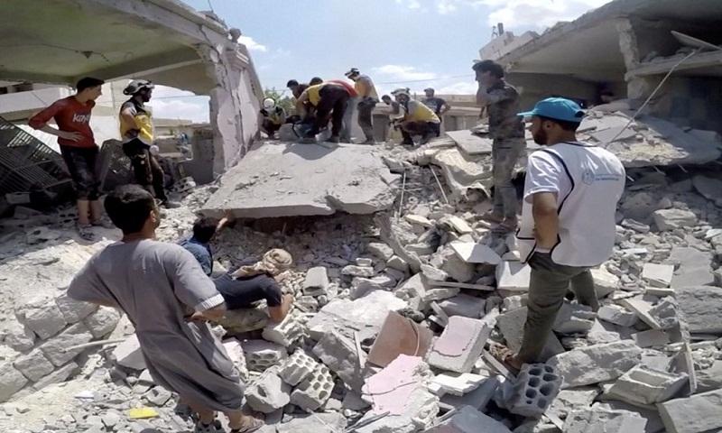 Syria air strikes killed over 100 civilians in past 10 days: UN